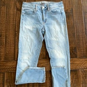 American eagle super stretch jeggings size 6